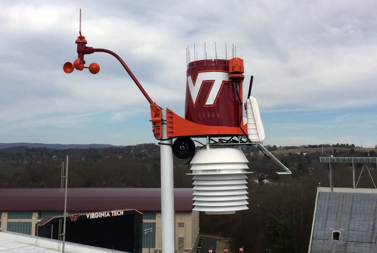 WeatherSTEM Lane Stadium Unit