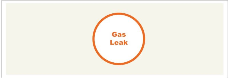 Gas Leak Icon Large
