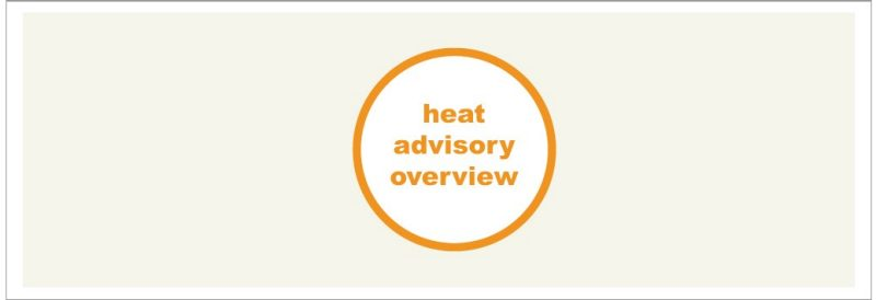 Heat Advisory Overview Icon Large