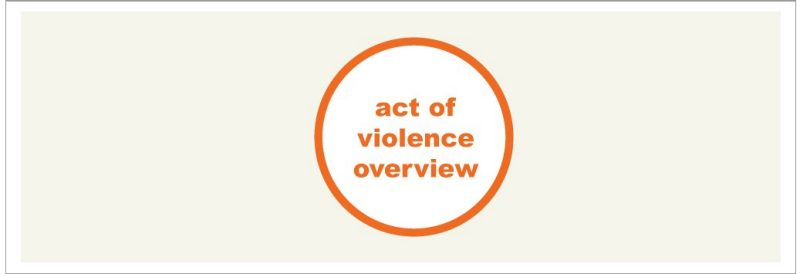 act of violence overview